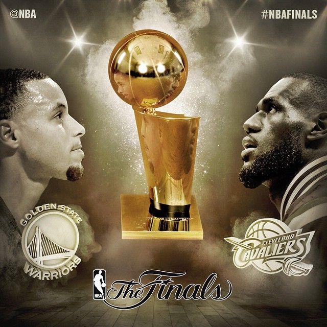 The 2015 #NBAFinals between the Golden State Warriors & Cleveland Cavaliers will be one to remember! This one will go to game 7!