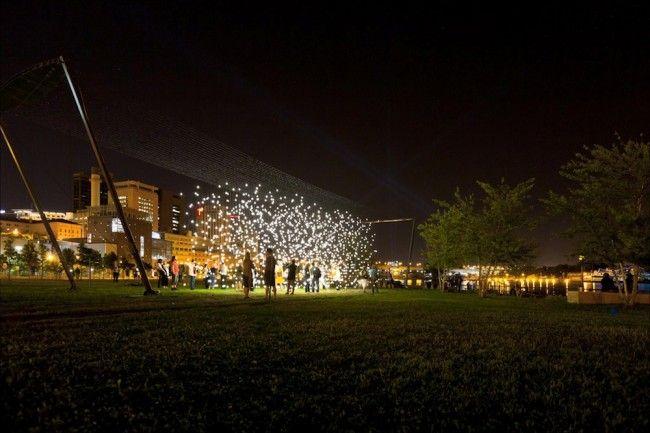Northern Spark Festival in de Twin Cities Minneapolis en Saint Paul in de VS  - © Dusty Hoskovec