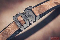 Brown Coat Tactical••EDC Belt w/Raptor••Buckle