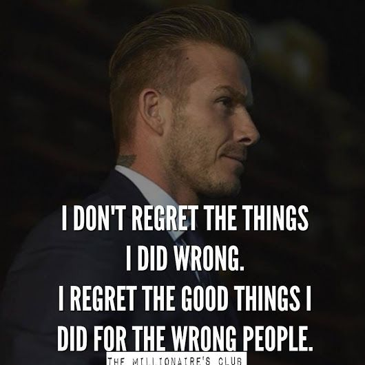 Don't regret anything. Just let it go and be proud of your good heart and wiser next time.