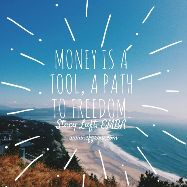 Money is a tool, a path to freedom. #budget #financialfreedom #Bword