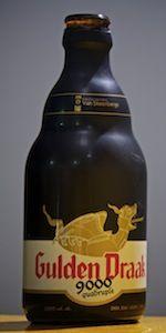 Gulden Draak 9000 Quadruple - Brouwerij Van Steenberge N.V. - Ertvelde, Belgium - BeerAdvocate