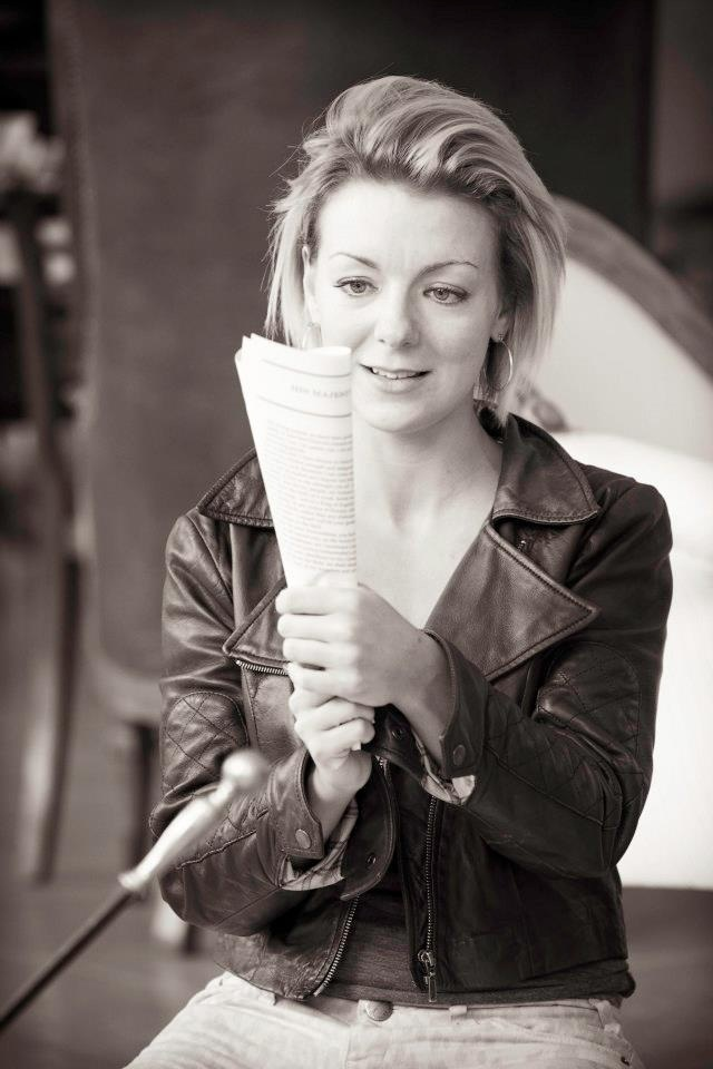 Sheridan Smith in rehearsal for Hedda Gabler at the Old Vic
