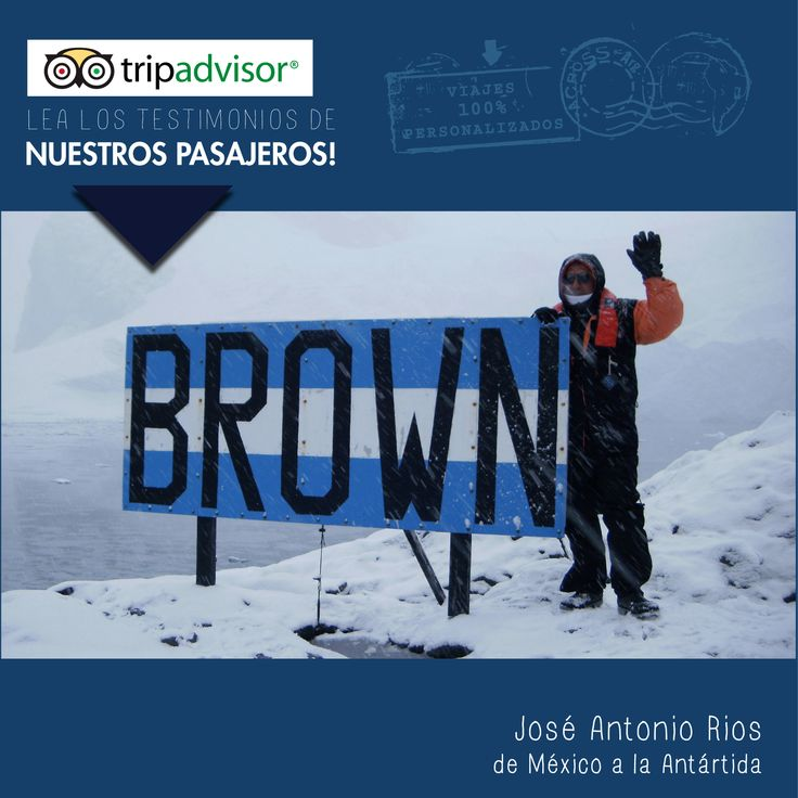 José Antonio Rios, from Mexico, traveled to Antarctica last March / April and he shared his experience with us. Apparently, everything went wonderful and we are very happy for that! Thanks Jose for sharing your testimony, hope to see you on your next trip to South America! #Mexico #Antarctica #journey #travel #traveling #travelers #nature #adventure #emotions #unique #beautiful #destinations #places #experiences #endoftheworld #cruise #Antartida #viaje #viajando #viajeros