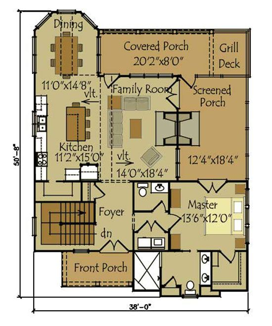 Small House Cottage Plans 211 best house plans images on pinterest | small houses, master