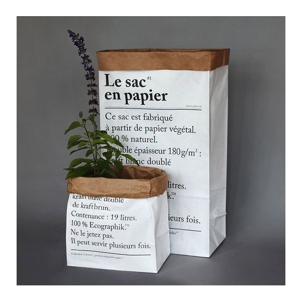 Sac en papier - Le Repère des Belettes