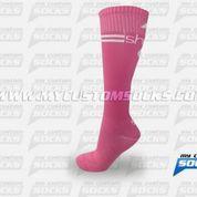 Socks designed by My Custom Socks for Sara Moylan in Jenison, MI. High knee socks made with Coolmax fabric. #Multisport custom socks - free quote! ////// Calcetas diseñadas por My Custom Socks para Sara Moylan en Jenison, MI. Calcetas de altura a la rodilla hechas con tela Coolmax. #Multideporte calcetas personalizadas - cotización gratis! www.mycustomsocks.com