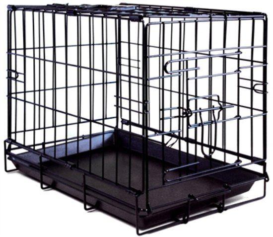 Zzzpetcomfort Bench 1 Deur Zwart - 47X30X37 CM