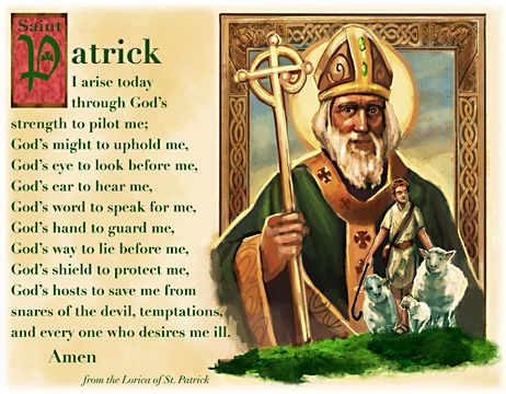 Let your child have sweet dreams with a little help from this Prayer Pillowcase of St. Patrick!