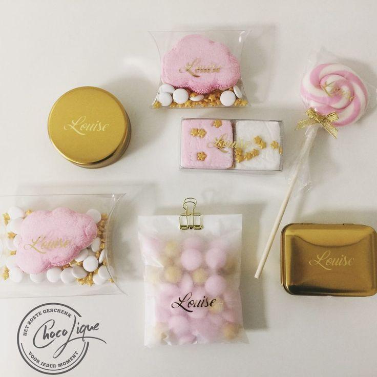 Doopsuiker / Pink & Gold
