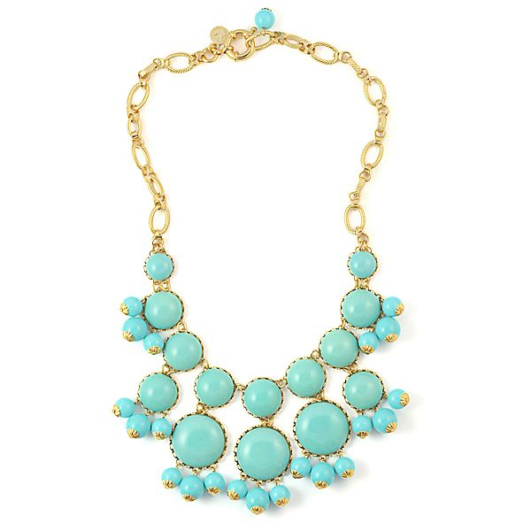 necklace: Color, Turquoise Necklace
