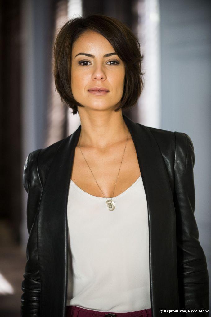 Os cabelos curtinhos e com estilo despojado da atriz Andreia Horta ocuparam a primeira posição nos mais pedidos e copiados das novelas