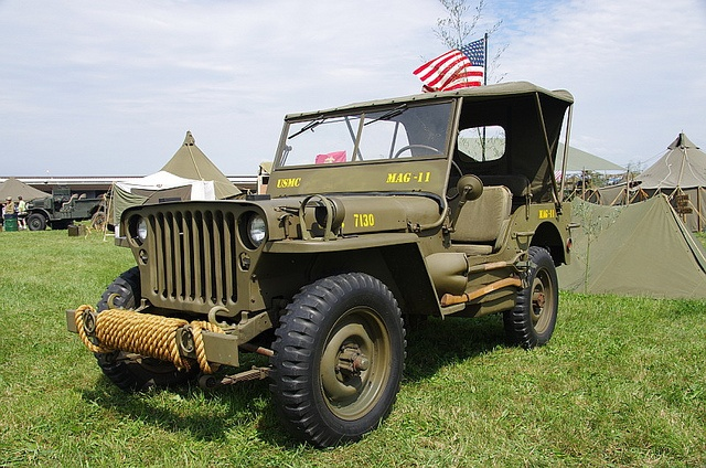 Wwii Us Marine Corps Willys Mb Jeep Jeep Photos Us