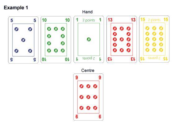 Numero Mental Maths Card Game. Golden Rule.