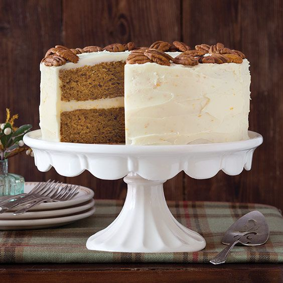 Orange Cake With Cream Cheese Frosting Paula Deen