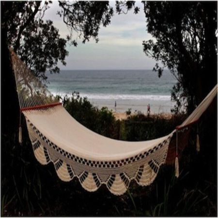 Heavenly Hammocks- This eco friendly Natural Hammock is beachy and functional. By ecochic.com.au