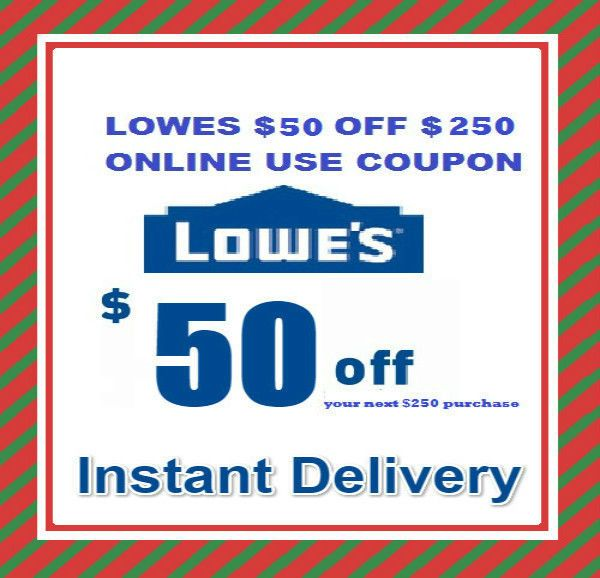awesome One Lowes $50 OFF $250 Online Promotion code Instant E-delivery Exp 2/10/2017   Check more at http://harmonisproduction.com/one-lowes-50-off-250-online-promotion-code-instant-e-delivery-exp-2102017/