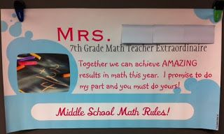 Middle School Math Rules!: Vista Print Ideas!