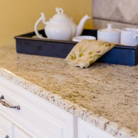 Giallo Ornamental Granite Countertop. Giallo Ornamentaler GranitKüchen  Arbeitsplatten