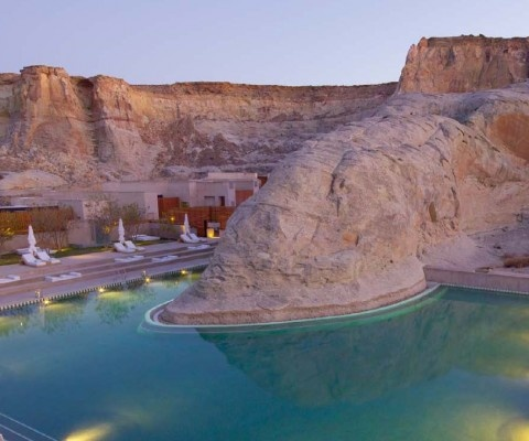 The latest luxury destination from Aman Resorts, The Amangiri in Southern Utah blends in with the landscape but stands out as a stunningly designed, beautifully appointed, modern resort and spa.