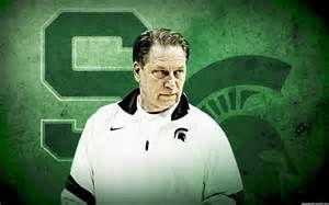 Michigan State University Basketball Spartans Izzo