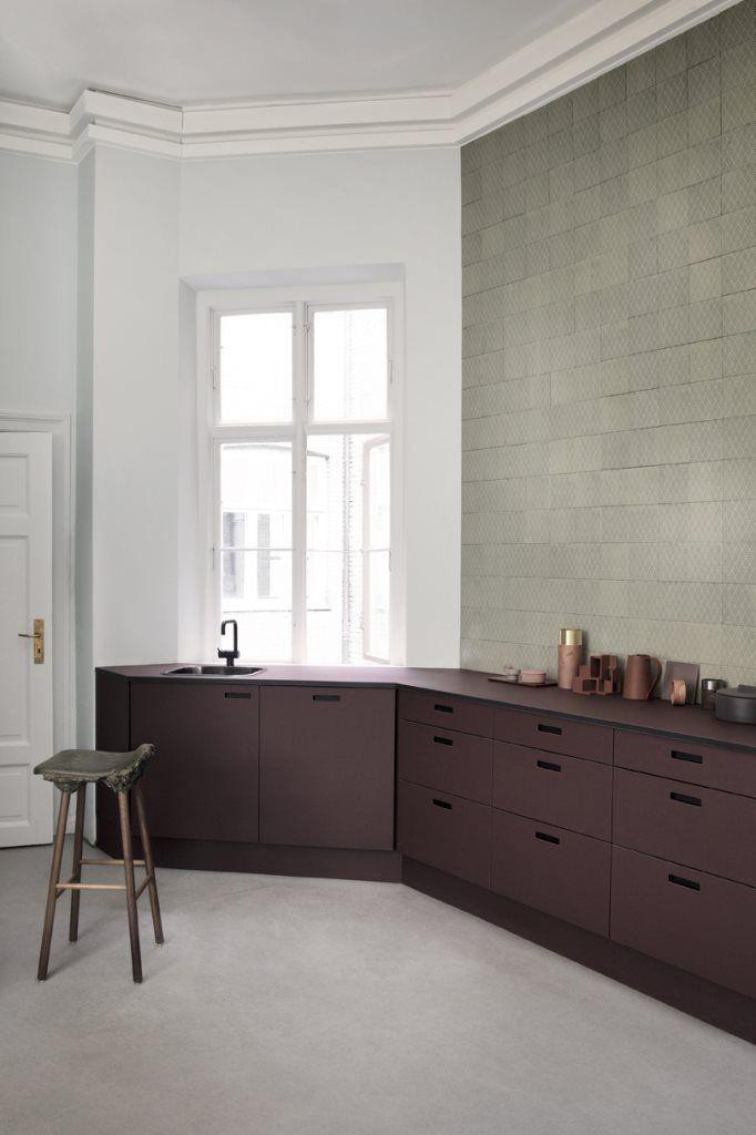andshufl Burgundy Kitchen