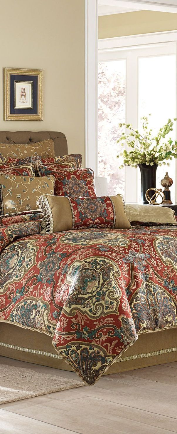 Bedding jardin collection bedding collections bed amp bath macy s - Find This Pin And More On Bedroom Inspiration Croscill Bedding