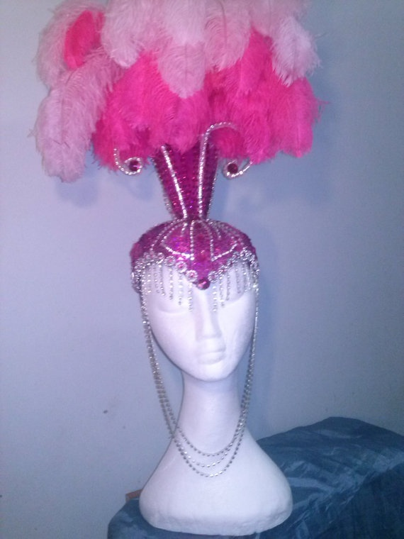showgirl headdress by Showbizz on Etsy