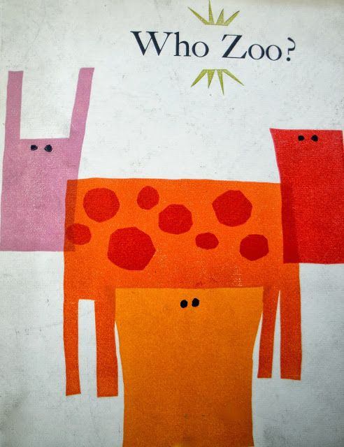 Who Zoo?: A Collection of Animal Heads & Bodies. Cyril E DeCosse. [s.l.]: Fairweather Press, 1958