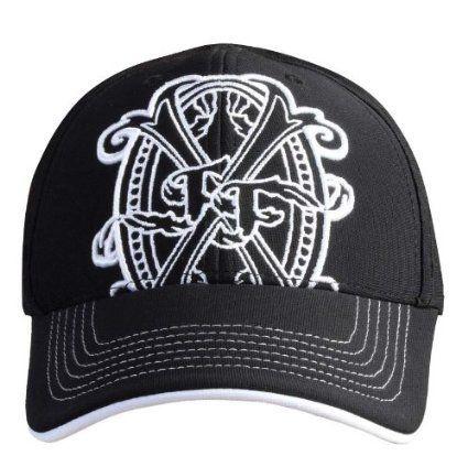 Arturo fuente opus x logo baseball hat black and white
