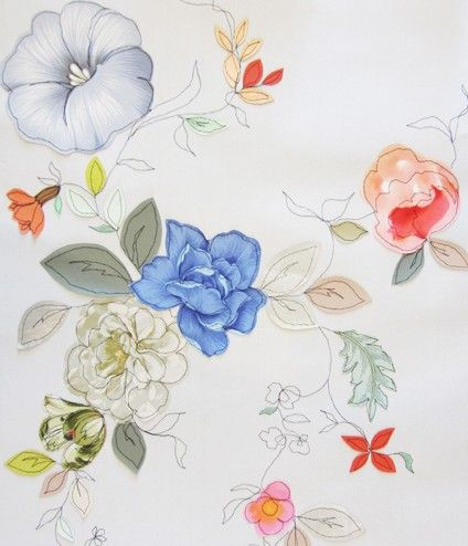Spring Bloom Wallpaper by Claire Coles