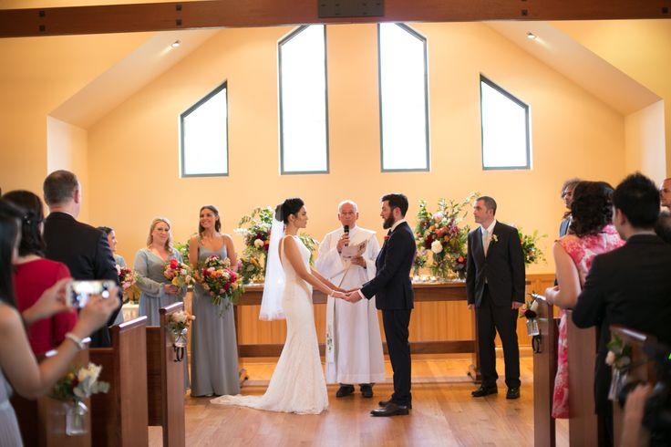 Chapel Ceremony  #vueonhalcyon #chapelwedding #yarravalleywedding