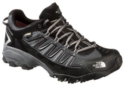 The North Face Ultra 109 GTX GORE-TEX Running Shoes for Men - TNF Black/Dark Shadow Grey - 10.5 M
