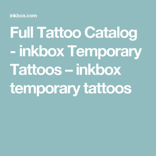 Full Tattoo Catalog - inkbox Temporary Tattoos – inkbox temporary tattoos