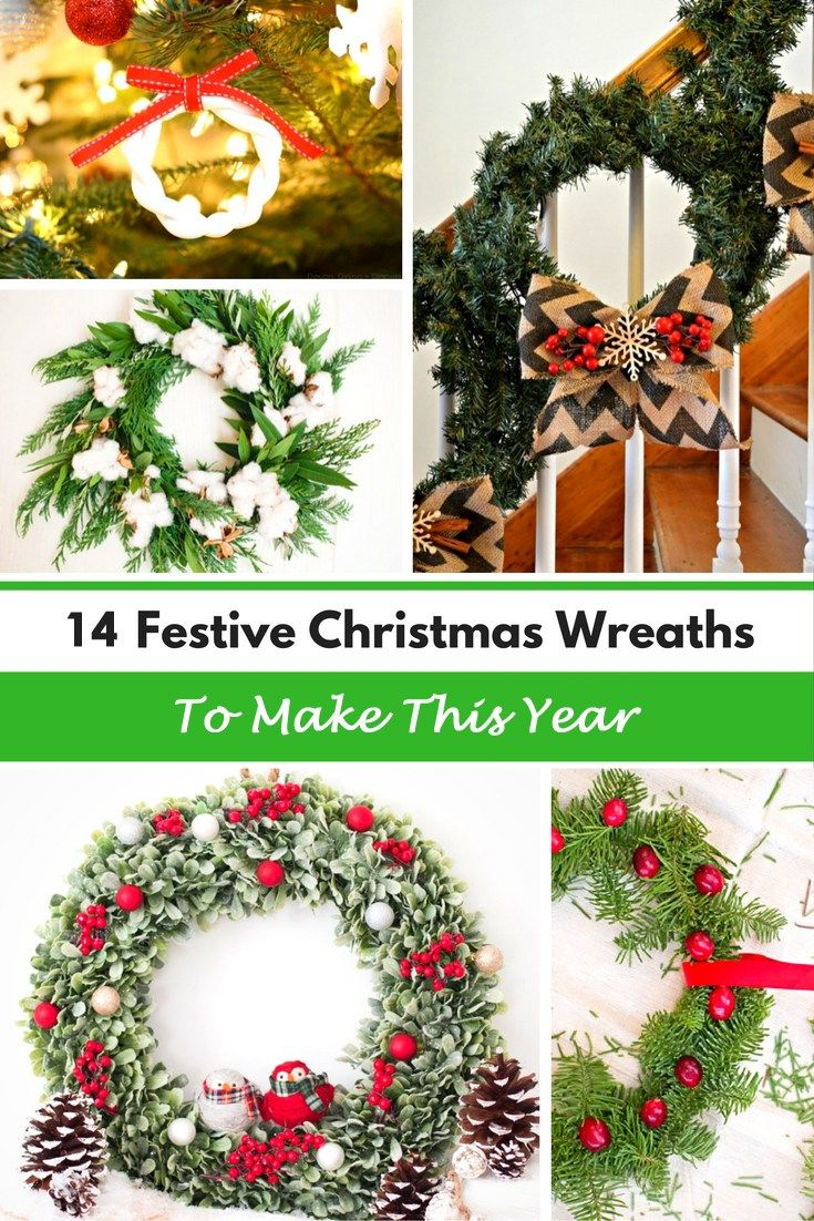 14 Festive Christmas Wreaths To Make