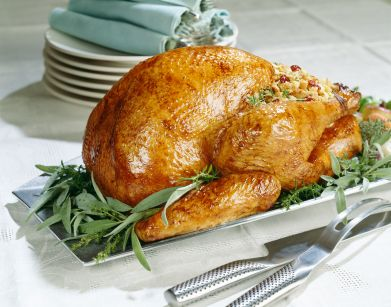 Receta de Pavo de Navidad Relleno de Carnes