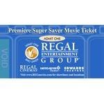 Regal Entertainment Group Premiere Super Saver 10 Movie Tickets