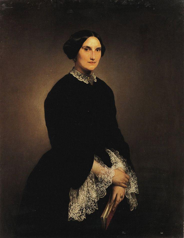Francesco Hayez - Ritratto della contessa Giuseppina Negroni Prati Morosini (1853)