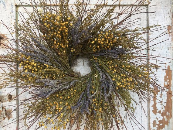 Natural Brush Twig Sweet Annie Flax and Lavender by NaturesLot