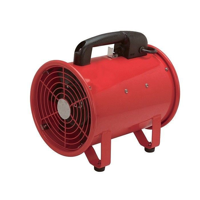 8 In Portable Ventilator Fan Garage Auto Shop Home Blow Dust New Free Shipping Centralmachinery Spray Booth Diy Portable Paint Booth Portable Spray Booth