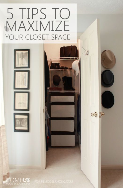 Don't throw up your hands in frustration at your closet space just yet! we have 5 amazing solutions to help you make the most of your space. Whether you have a small closet and need to stretch every nook and cranny, or your belongings far outweigh the space in your closet, these solutions are for you!