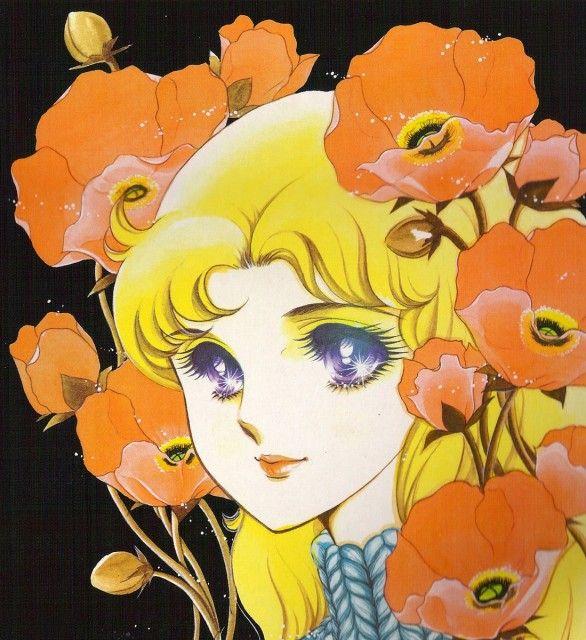 "Maya Kitajima from ""Glass Mask"" series by manga artist Suzue Miuchi."