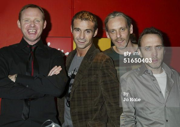 News Photo : Tommy Cunningham Marti Pellow Graeme Clark and...