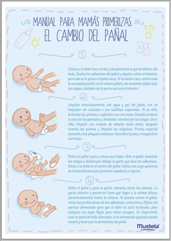#MUSTELA. Manual para el cambio de pañal. Para saber mucho más sobre bienestar y…