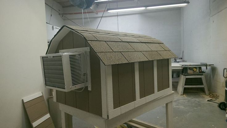 Ricky Lee's Air Conditioned Dog Houses - 3X-Large Basic Dog House With A/C, $599.99 (http://stores.rickyleesdoghouses.com/3x-large-basic-dog-house-with-a-c/)