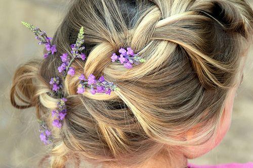 flower-hair: Hair Ideas, Wedding Hair, Hairstyles, Hair Styles, Wedding Ideas, Braids, Beauty, Flower
