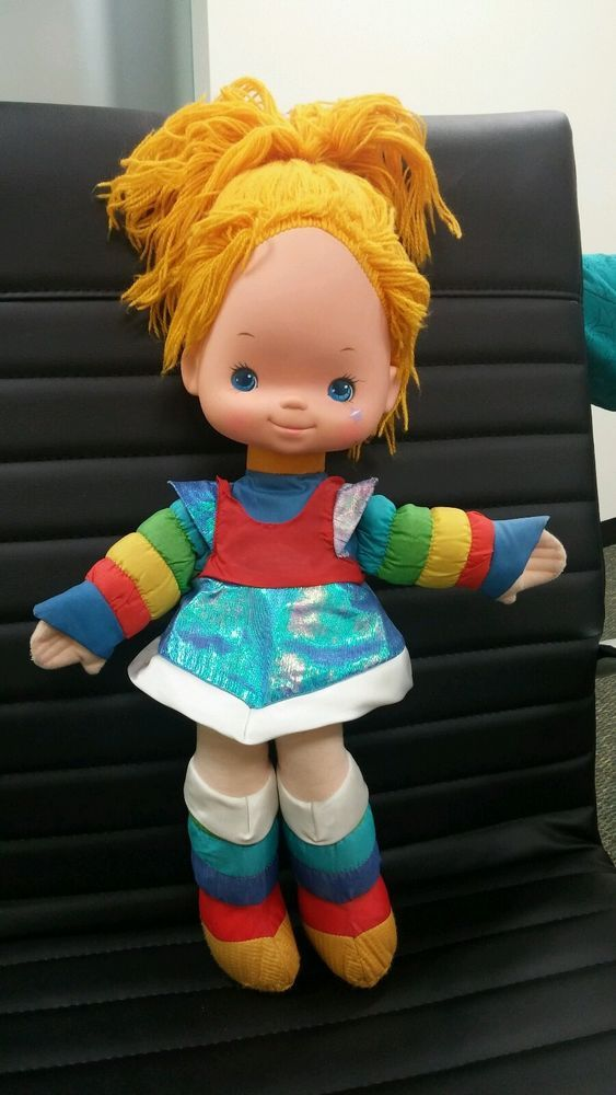 """Vintage, Rare Rainbow Brite Doll. Collector's must have!!! 21"""" From Hair to Feet. EUC!!!   eBay!"""