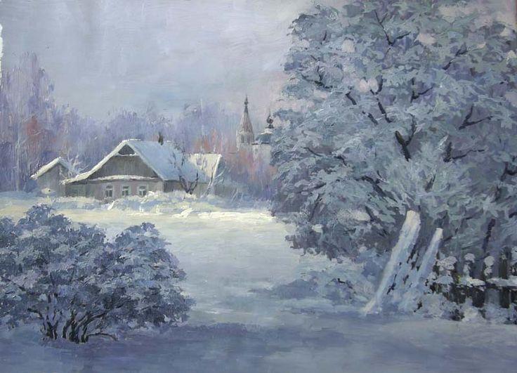 Ерошкина Ирина. Рождественское утро