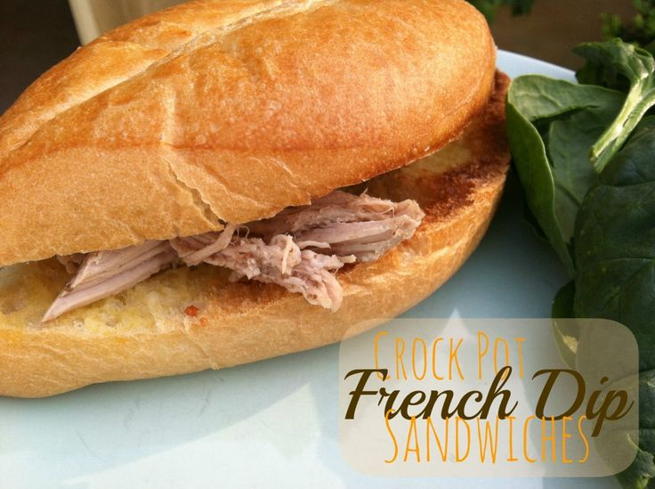237 best 5 ingredients or less recipes images on pinterest french dip sandwiches are one of my familys favorite meals crock pot french dip sandwiches are easy to make and only need 5 ingredients forumfinder Image collections