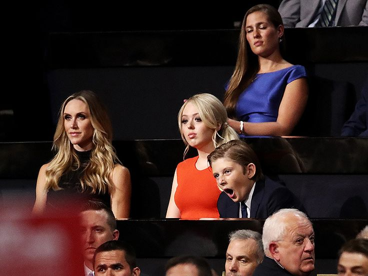 Tiffany Trump and Barron Trum. Donald's Youngest Kids    Donald Trump's second marriage was to Marla Maples. Marla and Donald had one child named Tiffany Donald Trump's third marriage was to his current wife Melania.They have a son Baron